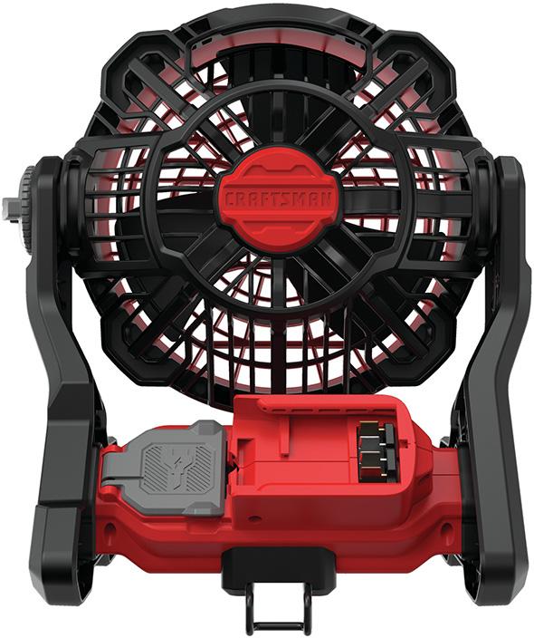 Craftsman CMCE001B Cordless Fan V20 Rear