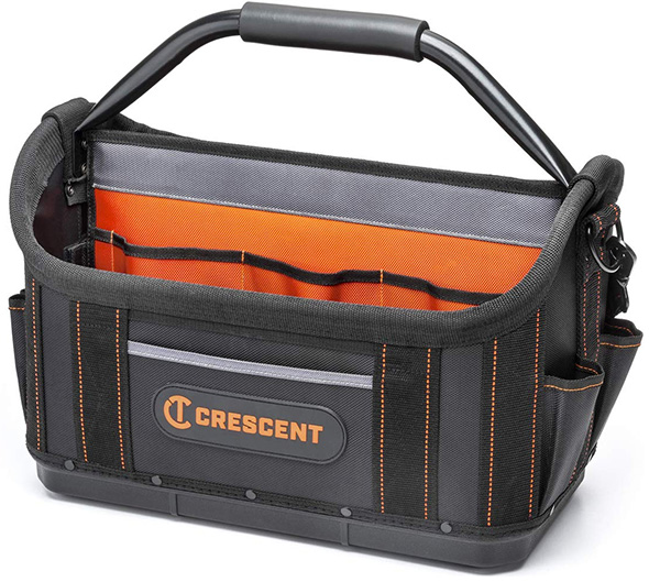 Crescent 17-inch Tradesman Open Top Tool Bag CTB1710