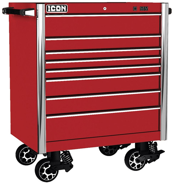 Harbor Freight Icon Professional Tool Chest Red
