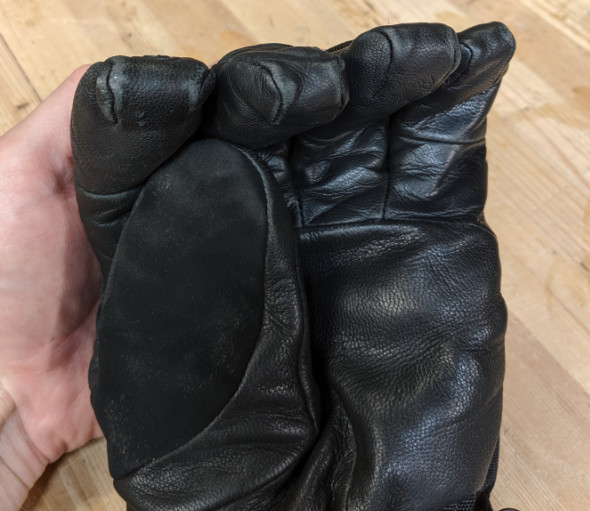 Milwaukee Heated Gloves Fingers and Thumb