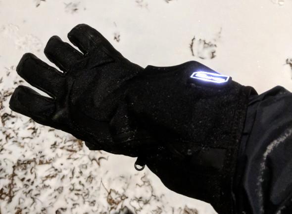 Milwaukee Heated Gloves In the Snow