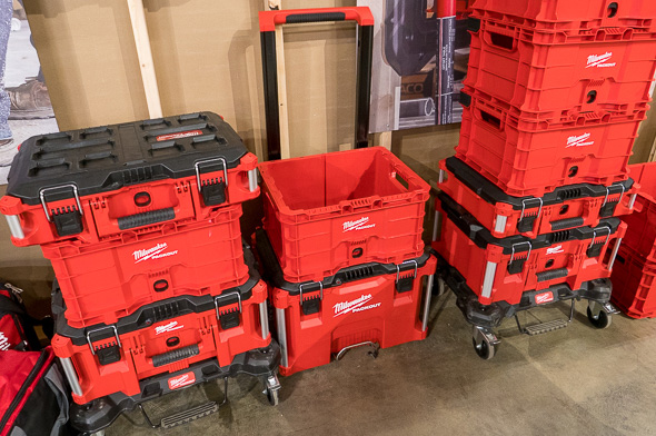 Milwaukee Packout Tool Crate Stacking Examples