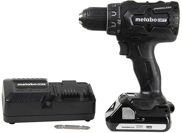 Metabo HPT DS18DBFL2QB Blacked-Out Brushless Drill Driver Kit