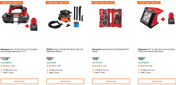 Milwaukee Cordless Power Tool Deals of the Day 10-7-19 Page 3