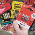 Milwaukee Makita Dewalt Screwdriver Bits at Home Depot