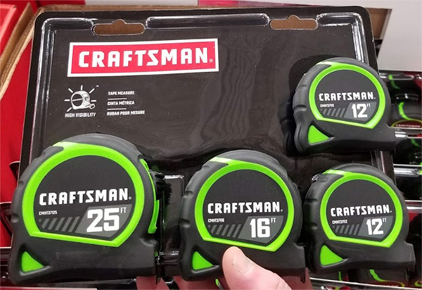 Craftsman Tape Measure 4-Pack CMHT82618Z Holiday 2019