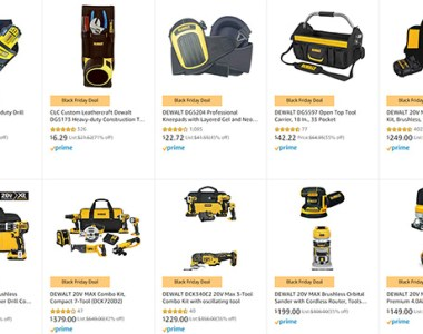 Dewalt Cordless Power Tools Amazon Black Friday 2019 Deals of the Day