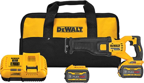 Dewalt DCS389 FlexVolt Cordless Reciprocating Saw Kit