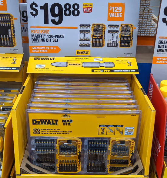 Home Depot 2019 Pre Black Friday Special Buys Dewalt Accessories
