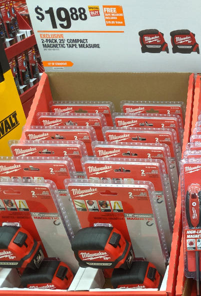 Home Depot 2019 Pre Black Friday Special Buys Milwaukee Tape Measures