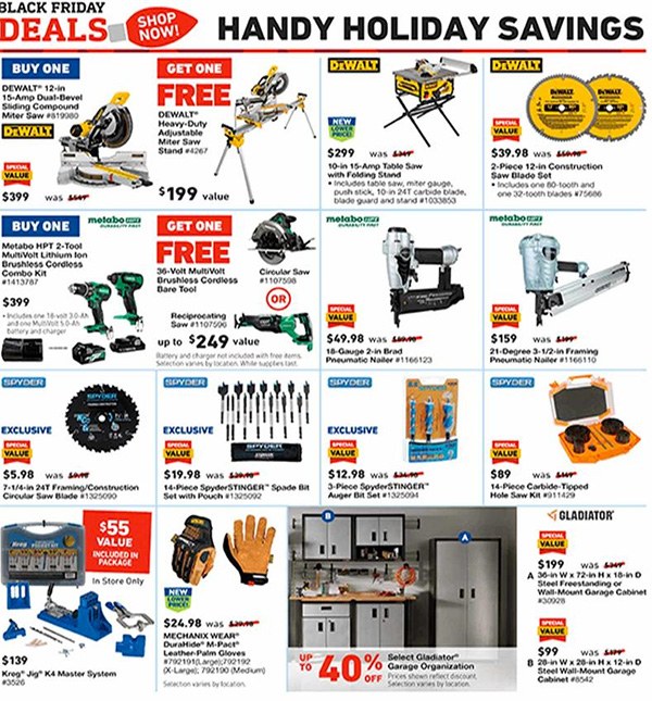 Lowes Black Friday 2019 Tool Deals Page 16