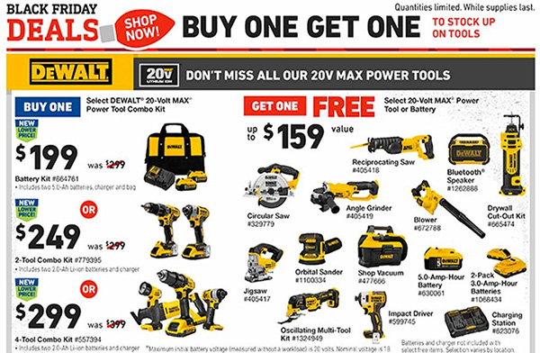 Lowes Black Friday 2019 Tool Deals Page 5