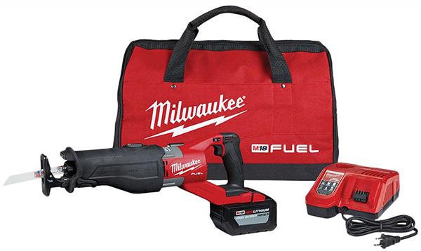 Milwaukee M18 Super Sawzall Reciprocating Saw Kit