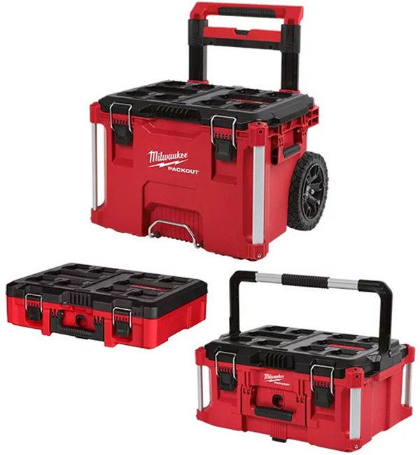 Milwaukee Packout Tool Box Combo with Foam Case