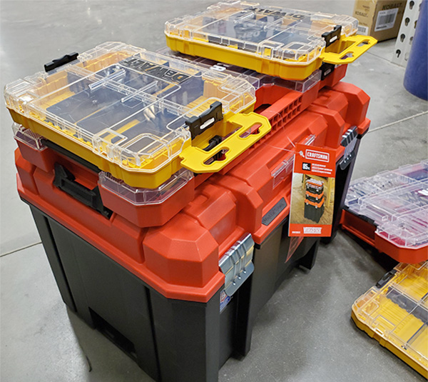 Craftsman Versastack and Dewalt ToughCase Plus Bit Storage Boxes
