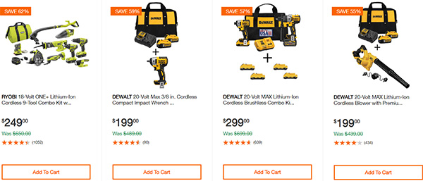 Home Depot Cordless Power Tool Deals of the Day 12-16-19 Page 14