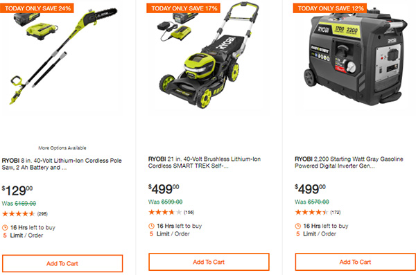 Home Depot Cordless Power Tool Deals of the Day 12-3-19 Page 8