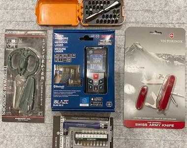ToolGuyd Bosch Blaze Laser Distance Meaasuring Tools Giveaway Prize