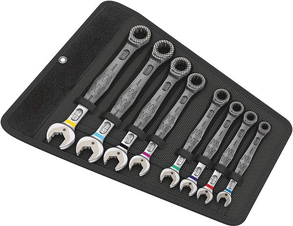 Wera Joker Wrench Set 8pc Inch Sizes