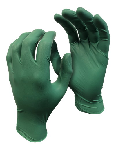 Watson Gloves Green Monkey Biodegradable Disposable Gloves