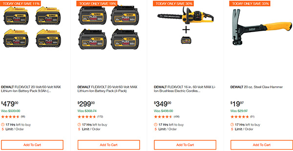 Dewalt Cordless Power Tool Deals Day 2-17-20 Page 7