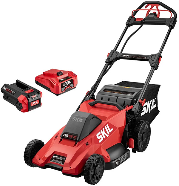 Skil PWRCore 40V Cordless Self-Propelled Lawn Mower