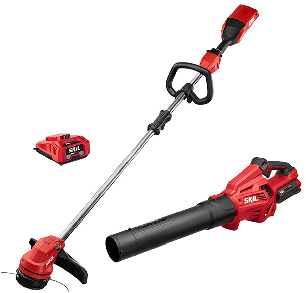 Skil PWRCore 40V Cordless Trimmer and Blower Combo Kit