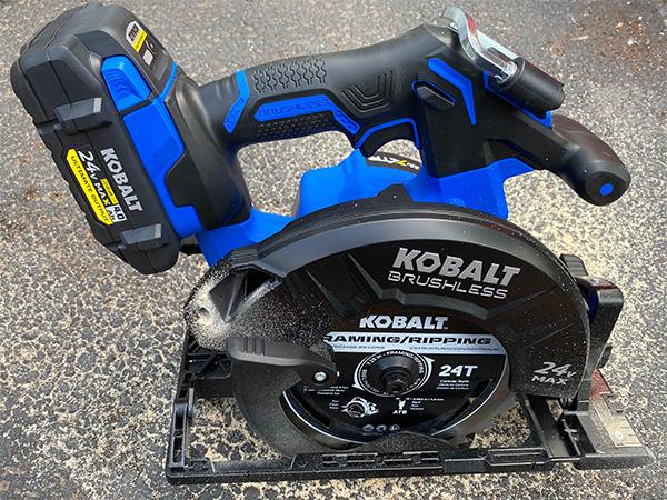 Kobalt 24V Max XTR Cordless Circular Saw