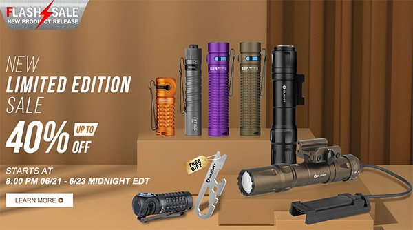 Olight Fathers Day Flash Sale 2020