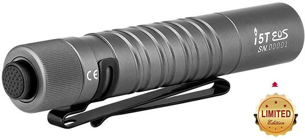 Olight i5T EOS Gunmetal LED Flashlight