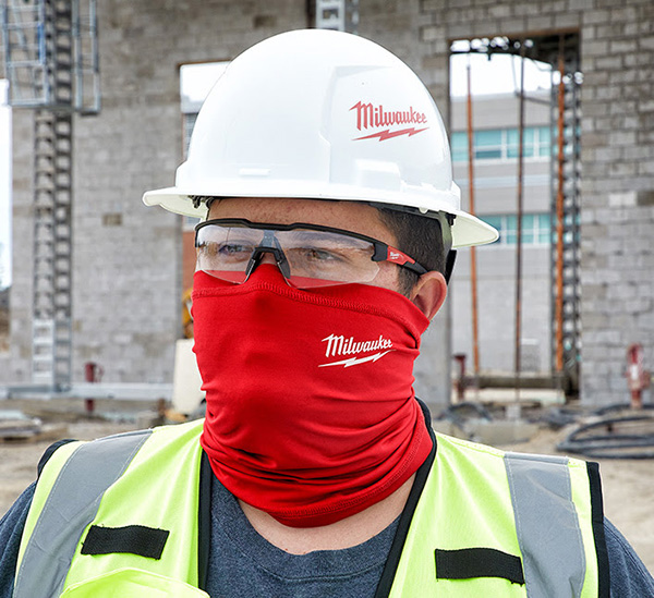 Milwaukee Tool Neck Gaiter Face Mask