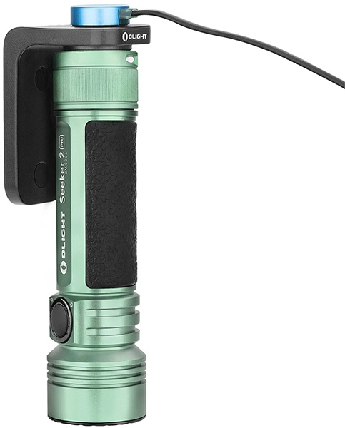 Olight Flashlight Flash Sale 7-20-20 Seeker 2 Pro Mint Green Charging Dock