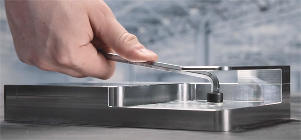 PB Swiss 90-100 Hex Key Demo with Obstacles