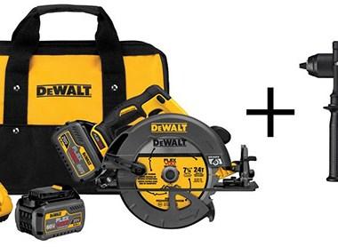 Dewalt FlexVolt Circular Saw and Drill Deal Bundle