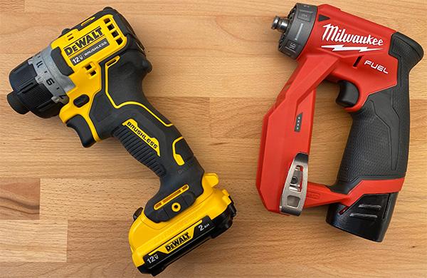 Dewalt vs Milwaukee Tool: