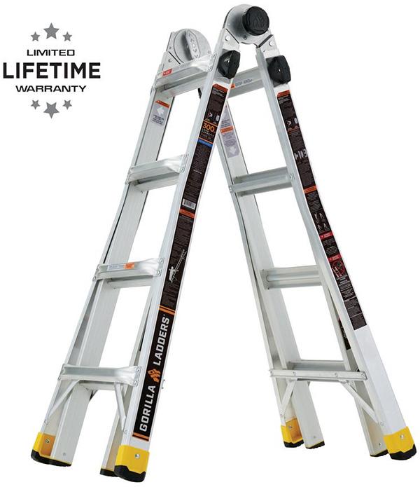 Gorilla Ladders Multi-Reach Ladder 18ft