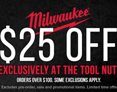 Milwaukee Tool Flash Sale Tool Nut 8-25-20