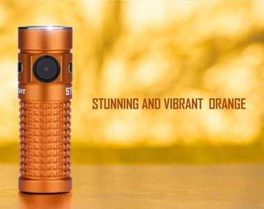 Olight Orange S1R Baton II EDC Flashlight