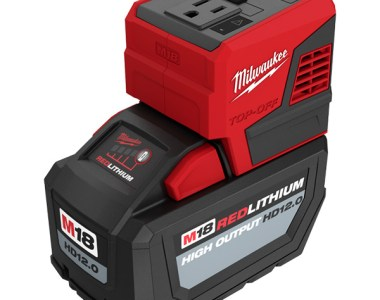 Milwaukee M18 Top-Off 2846-20 USB Power Adapter with HD 12Ah Battery