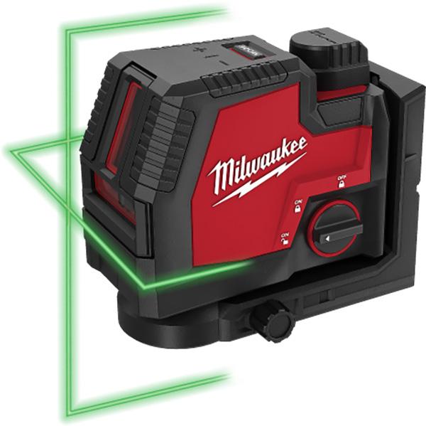 Milwaukee RedLithium USB Laser Green Beams