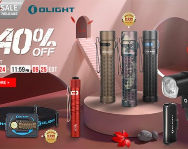 Olight Flash Sale 9-24-20
