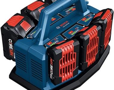 Bosch GAL18V6-80 6-Port 18V Battery Charger with Li-ion Batteries