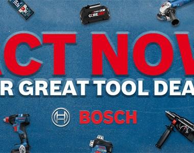 Bosch Tool Deals 10-2020