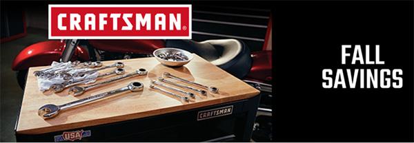 Craftsman Fall Savings 2020