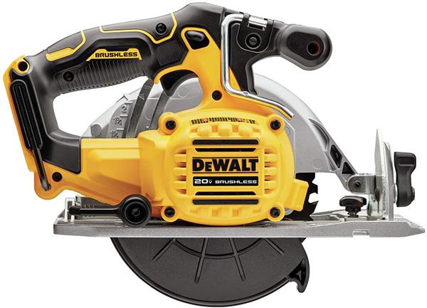 Dewalt DCS565B Brushless Circular Saw Side View