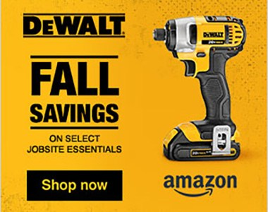Dewalt Fall Essentials Tool Deals at Amazon