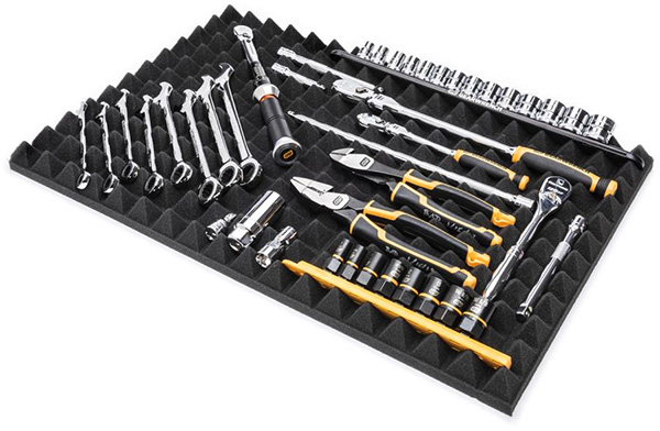 Gearwrench Trap Mat Drawer Liners Tool Organization Full Kit