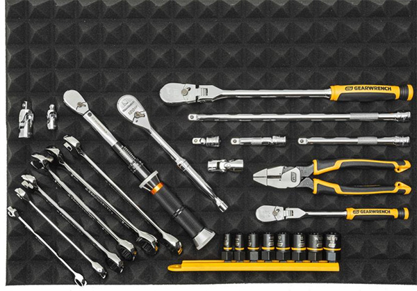 Gearwrench Trap Mat Drawer Liners Tool Organization