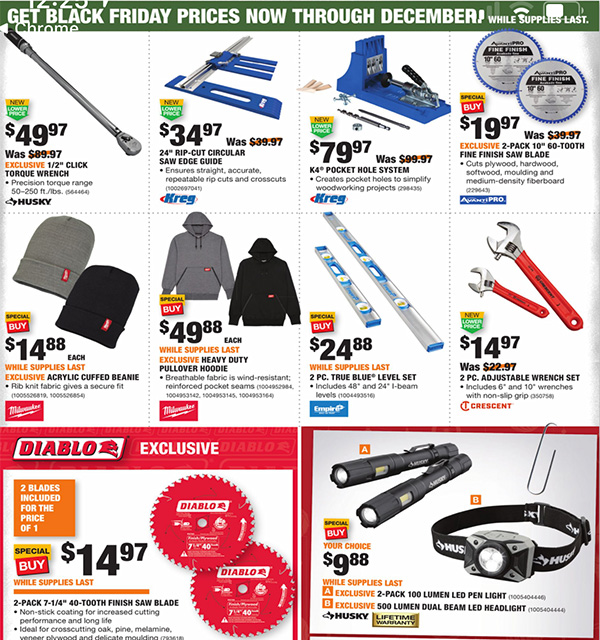 Home Depot Black Friday 2020 Tool Deals Page 15