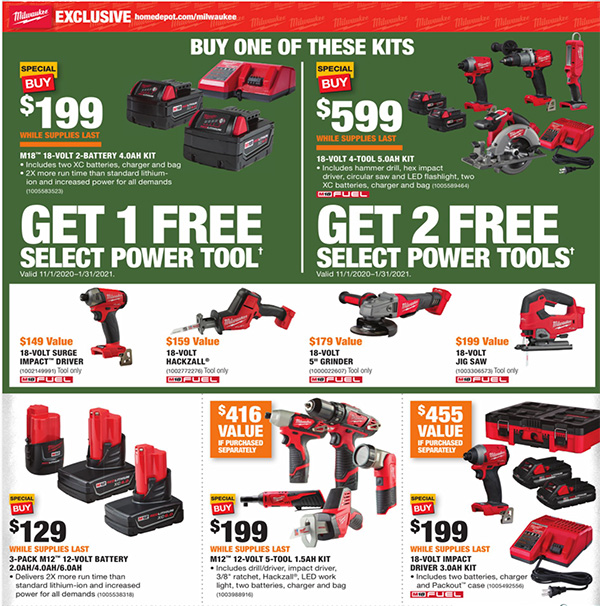 Home Depot Black Friday 2020 Tool Deals Page 5